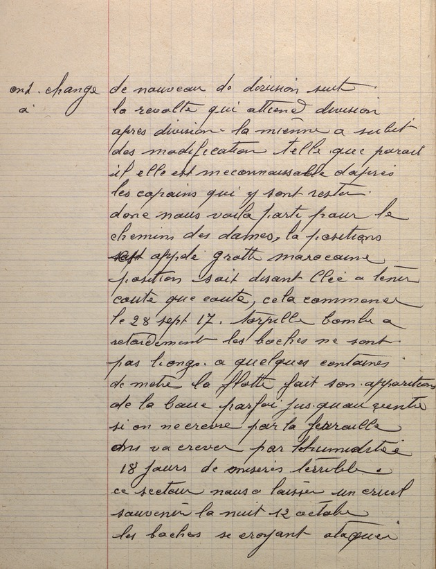 Picture of page 8 of the diary