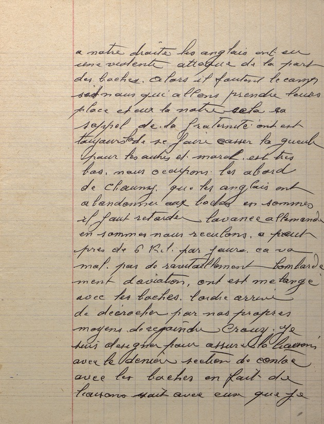 Picture of page 11 of the diary