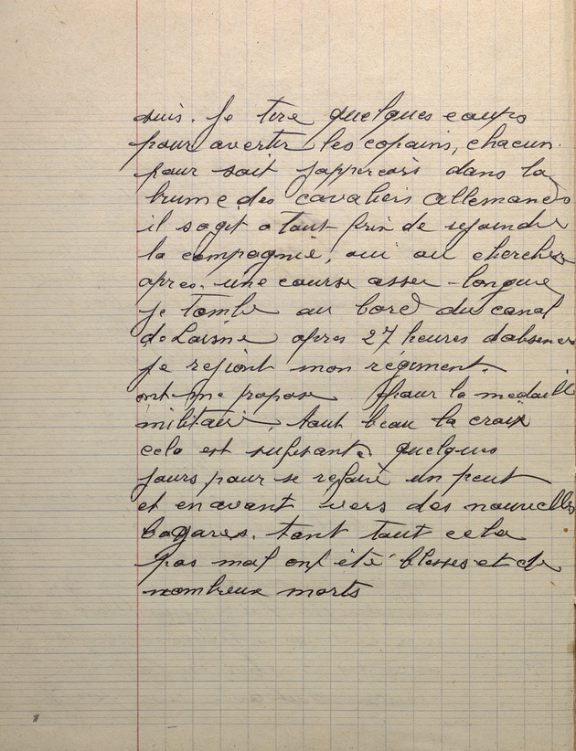 Picture of page 12 of the diary