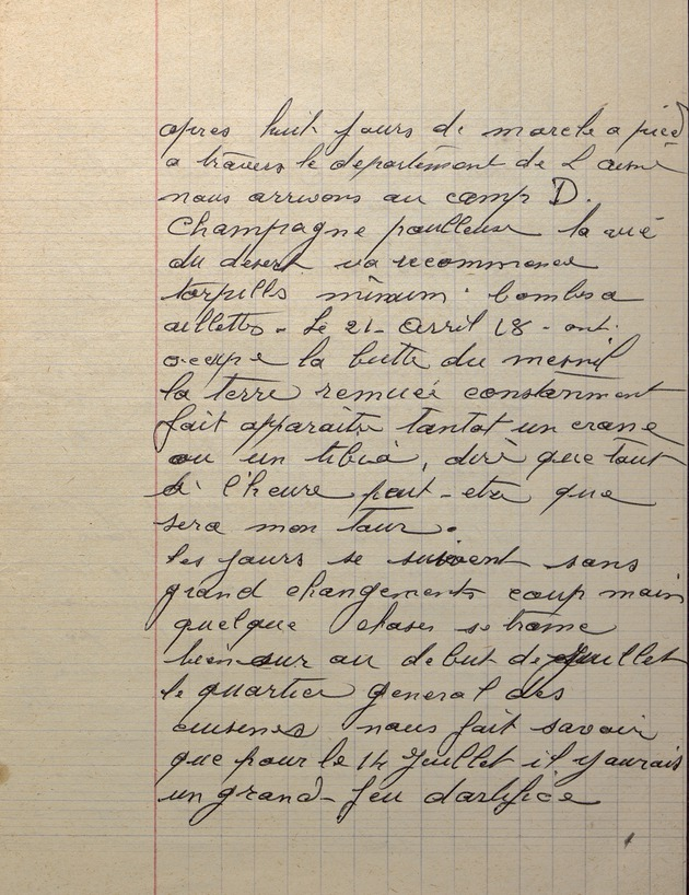 Picture of page 13 of the diary