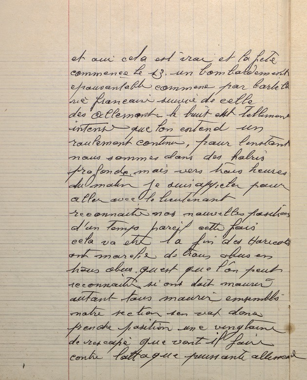 Picture of page 14 of the diary