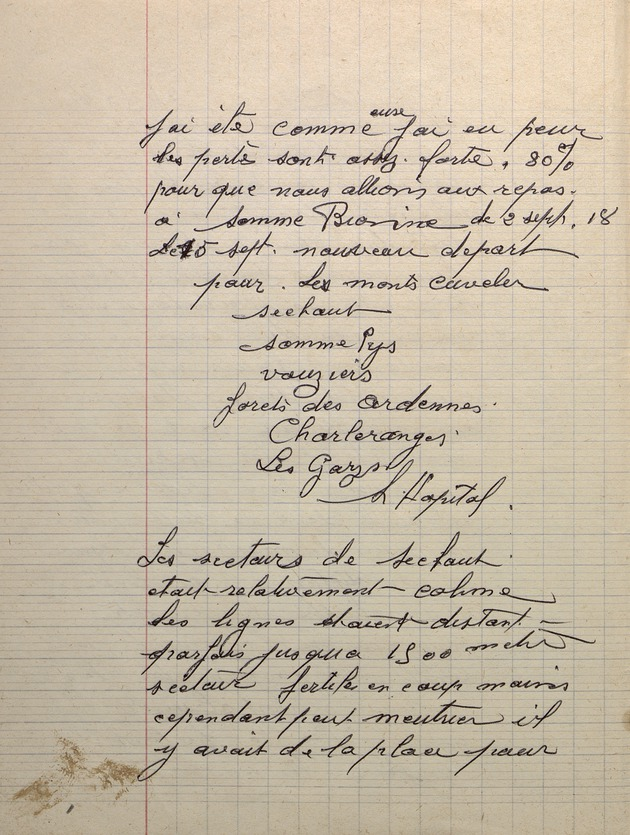 Picture of page 16 of the diary