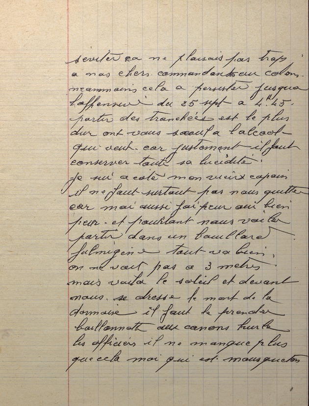 Picture of page 17 of the diary