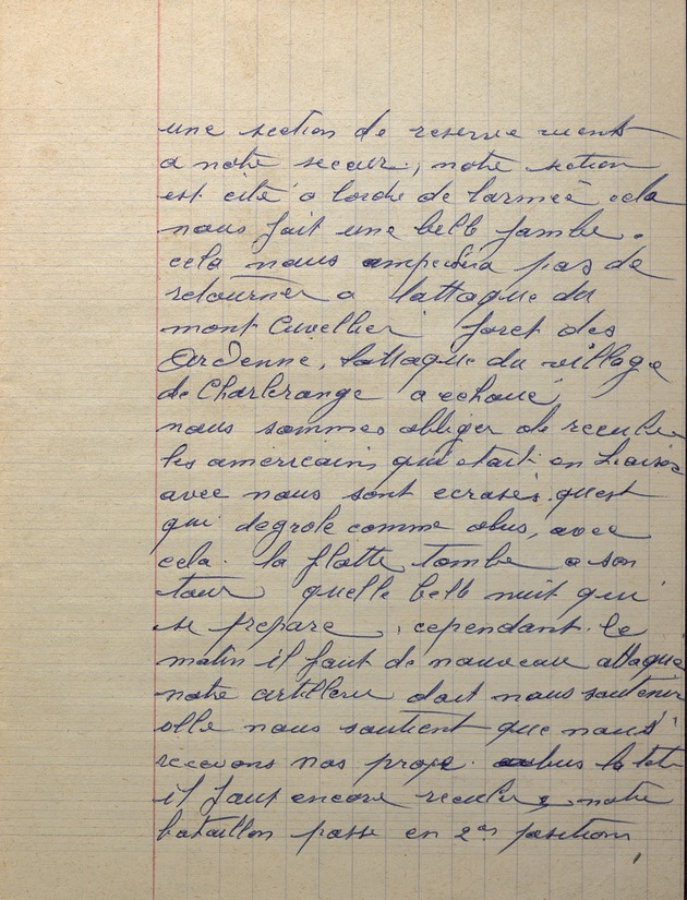 Picture of page 19 of the diary