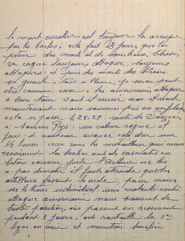 Image of page 20 of the diary